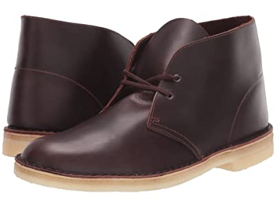 Clarks Desert Boot (Chestnut Leather) Men