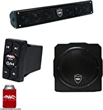 Wet Sounds Stealth 6 Surge Sound Bar w/WW-BTRS Bluetooth Rocker Switch and AS-8 8