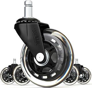 Amazon.es: ruedas de goma para sillas de oficina