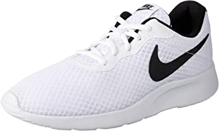Nike Women's Tanjun Trainers, White/Black