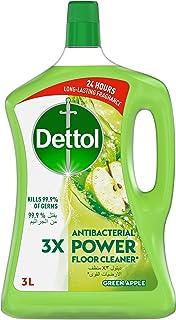 منظف الأرضيات ديتول، أخضر، 3 لتر