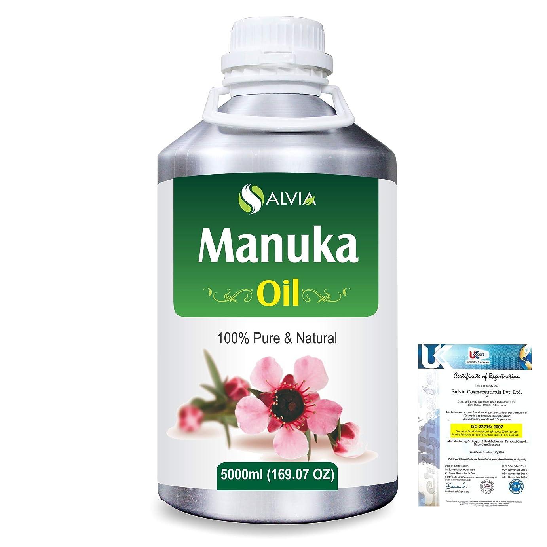支配的トピック自分Manuka (Leptospermum scoparium) 100% Natural Pure Essential Oil 5000ml/169fl.oz.