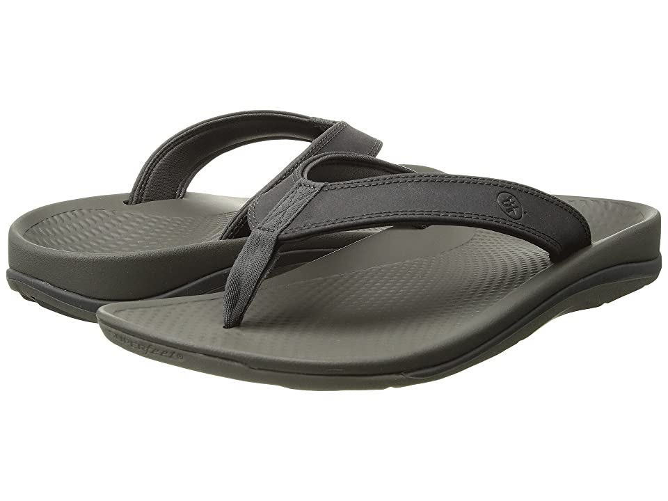 Superfeet Outside 2 Sandal (Magnet/Charcoal Gray) Men