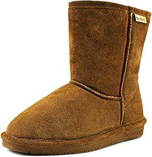 Bearpaw Womens Adele Youth Wool Closed Toe Mid-Calf Cold Weather Boots
