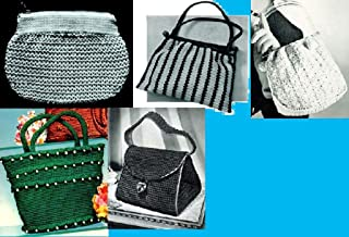 Vamos a Crochet bolsos ~ 5 bolsa de mano más patrones para Crochet (Spanish Edition