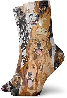 Nother, Calcetines cortos de algodón para adultos, para hombre, mujer, yoga, senderismo, ciclismo, correr, fútbol, deportes