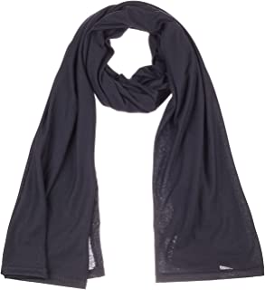 BYOS Fashion Jersey Oblong Long Scarf Wrap Stole in Solid Color, 69