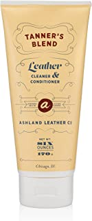 Tanner's Blend - Leather Cleaner & Conditioner Made for Horween & All Genuine Real Quality Leather Bags Shoes Furniture Cars Wallets Purses (6oz)