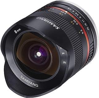 Samyang Obiettivo F2.8 II Fish Eye, Canon M, Nero, 8 mm