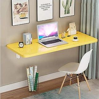 ZCYY Table Murale, Table Murale Pliante à abattant, Bureau de Table pour Enfants, Table de Cuisine et de Salle à Manger, B...