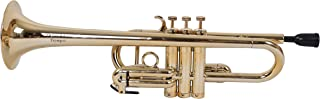 Tromba TPC-GD Pro Professional Plastic C Trumpet, Golden