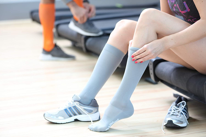 Donna Uomo Calze Lunghe Sportive Rainbow Socks