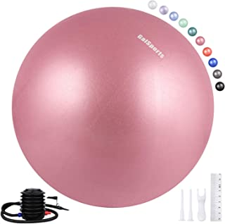 GalSports Pregnancy Birthing Ball,  Yoga Exercise Birth Ball Chair for Delivery & Training & Fitness,  Extra Thick Non-Toxic Anti-Burst Labor Ball with Quick Pump,  Certified by SGS
