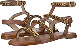 Haddie Multi Chains Gladiator Flat Sandal