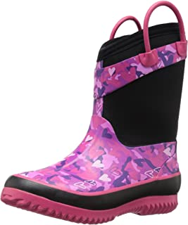 Western Chief Kids Cold Rated Neoprene Boot, Heart Camo