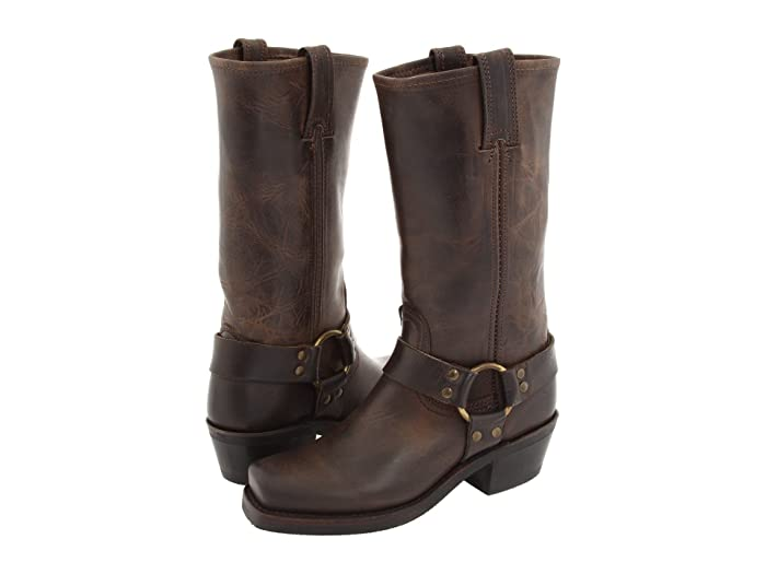 Frye  Harness 12R (Smoke Old Town) Womens Pull-on Boots