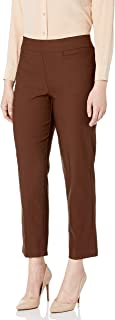 Alfred Dunner Women's Allure Slimming Missy Short Stretch Pants-Modern Fit