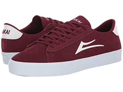 Lakai Newport (Burgundy Suede) Men