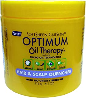 Softsheen Carson Optimum Oil Therapy - Hair & Scalp Quencher 4.1 oz. (Pack of 2)
