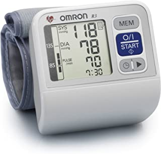 Automatic Wrist Blood Pressure Monitor By Omron, R3