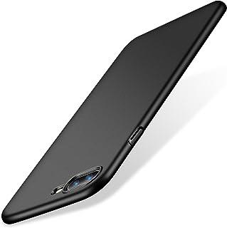 TORRAS iPhone8Plus ケース iPhone7Plus ケース 薄型【ガラスフィルム付き】アイフォン8プラス/ 7プラス 耐衝撃 カバー (ブラック)[Wisdom Series]