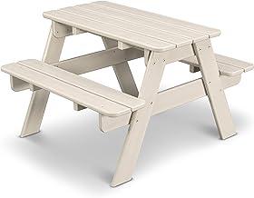product image for POLYWOOD KT130SA Kids Picnic Table, Sand