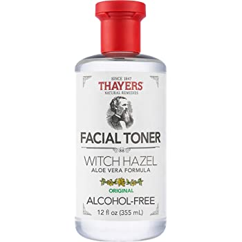 THAYERS Alcohol-Free Original Witch Hazel Facial Toner with Aloe Vera Formula - 12 oz