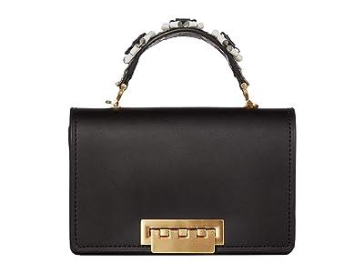 ZAC Zac Posen Earthette Accordion Top-Handle Multi (Black) Handbags