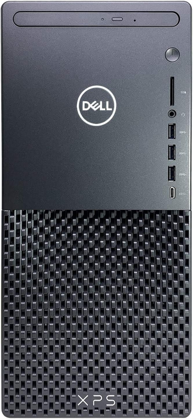 Dell XPS 8940 Desktop Computer - 11th Gen Intel Core i7-11700 up to 4.9GHz CPU, 64GB RAM, 2TB SSD + 10TB HDD, Intel UHD Graphics 750, Killer Wi-Fi 6, 500W PSU, DVD-RW, Wireless Mouse, Windows 10 Home