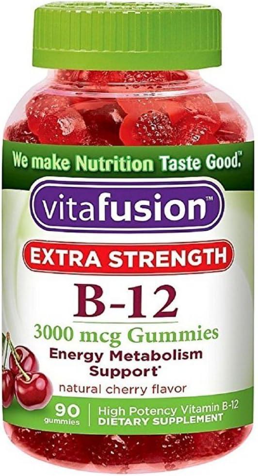 Vitafusion Japan Maker New Ex Strength B- B-12 90ct Size Al sold out.