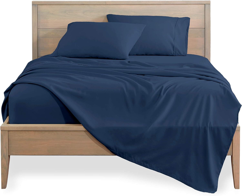 Sheet Set - Luxury Soft 100% Cotton Weave 800 Sateen 35% OFF Thr safety Bedding