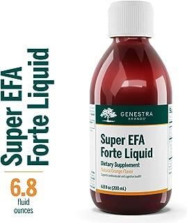 Genestra Brands - Super EFA Forte Liquid - Fish Oil Formula to Support Cognitive, Cardiovascular, and Joint Health - Natural Orange Flavor - 6.8 fl oz