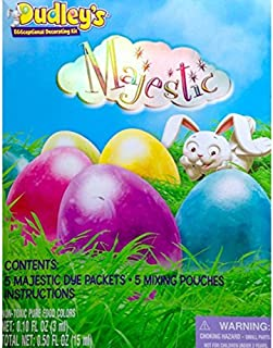 Dudley's Eggceptional Decorating Egg Dye Kit, Majestic