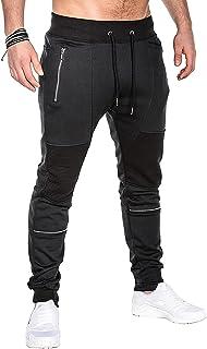 MODCHOK Men's Jogger Sweatpants Fleece Pants Workout Trousers Slim Fit Tracksuit