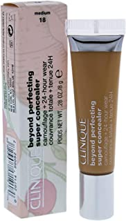 Clinique Beyond Perfecting Super Concealer Camouflage Plus 24-Hour Wear - 18 Medium for Women - 0.28 oz Concealer, 8.4 ml