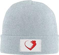 Creamfly Mens&Women Love Warrior Heart Wool Watch Cap