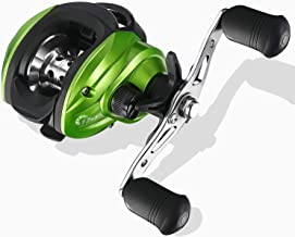 Baitcasting Reels- 7.7oz Ultra Lightweight Casting Reels,17 +1 NMB Japan-Designed Protective Bearing, 7.2:1 Brass Gear, 17 IbS Carbon Fiber Drag, Unparalleled Bait Fishing Reel