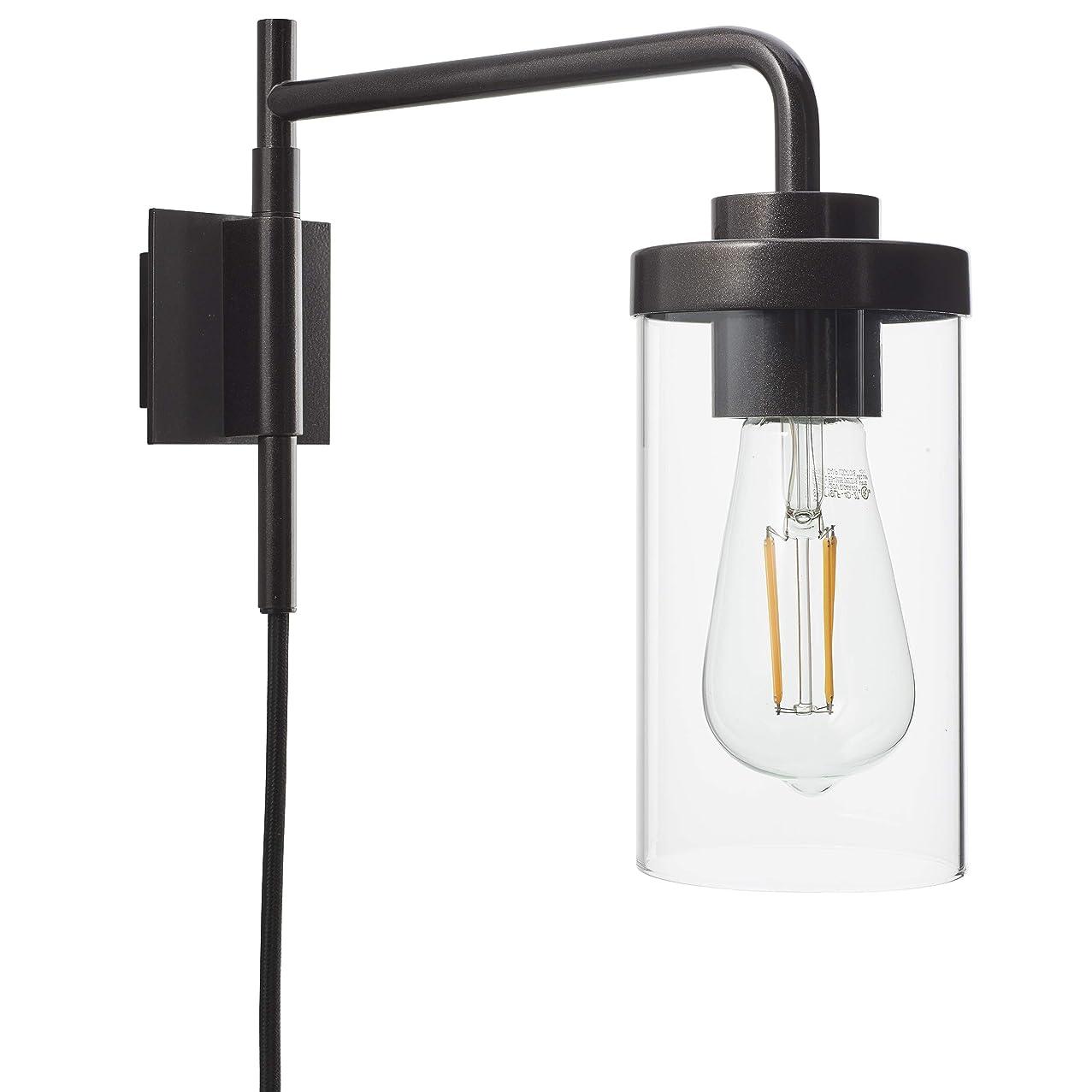Luncia Plug in Wall Sconce | Dark Bronze Bathroom Vanity Plug in Wall Lamp LL-WL694-6DB