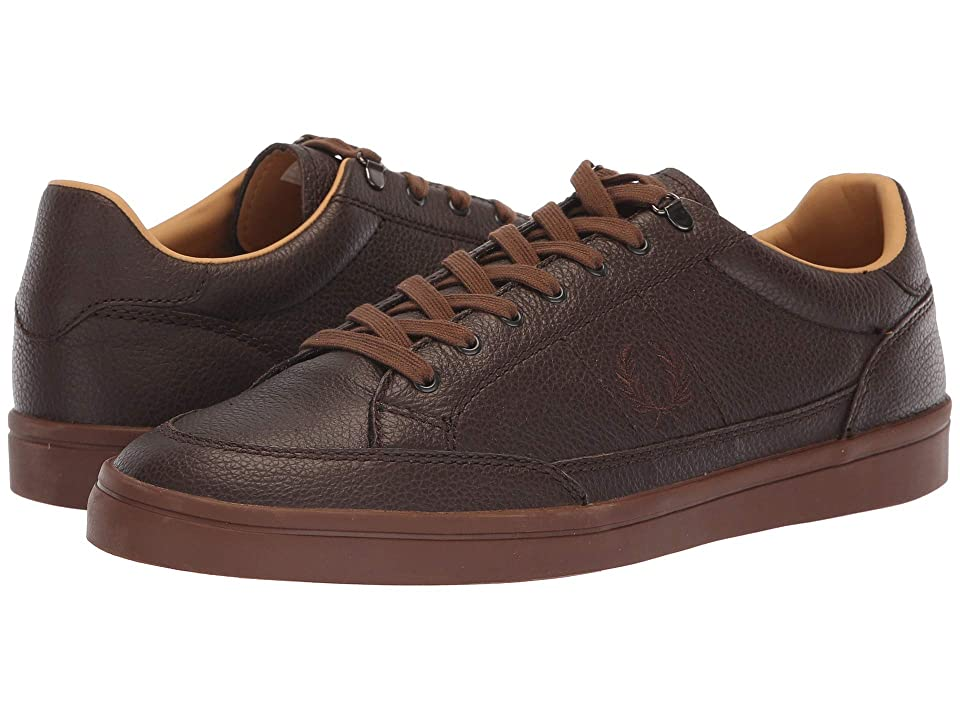 Fred Perry Deuce Premium Leather (Dark Chocolate) Men