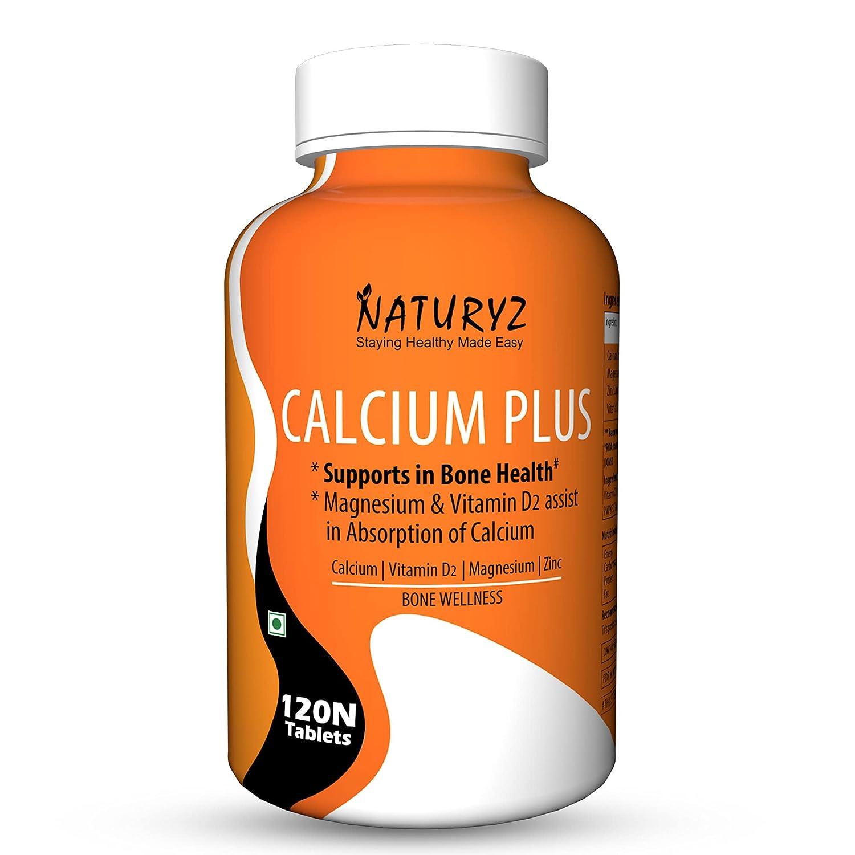 Naturyz Calcium Plus Tablets is the best calcium tablets for bones in india