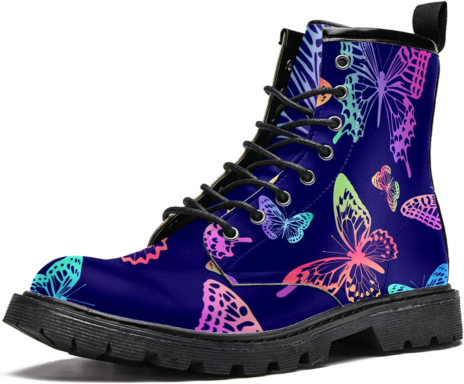 High Top Lace Up Girl Ankle Openwork Butterfly Boots Outlet ☆ Free Shipping Wo Import Colorful