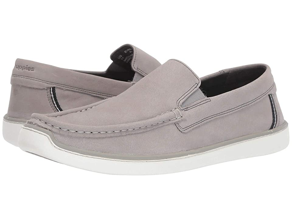 Hush Puppies Toby Venetian (Cool Grey Nubuck) Men
