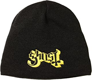 Ghost Band Logo Knit Beanie-Cap Official Metal Fan Headwear Apparel Merchandise