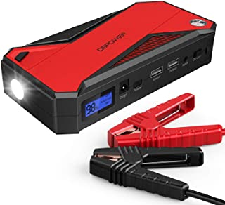 DBPOWER 800A 18000mAh Portable Car Jump Starter (up to 7.2L Gas, 5.5L Diesel Engine)..