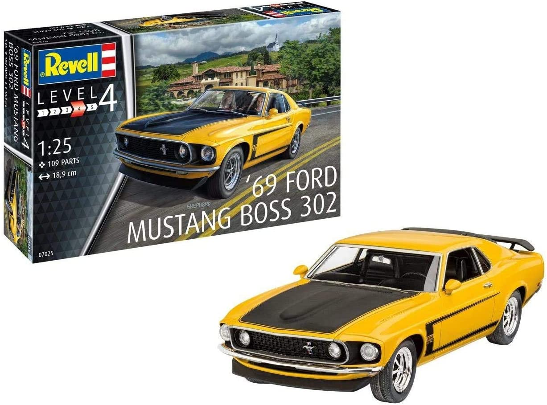 Revell Financial sales sale Recommendation RV07025 1969 Boss 302 Plastic Model kit Mustang