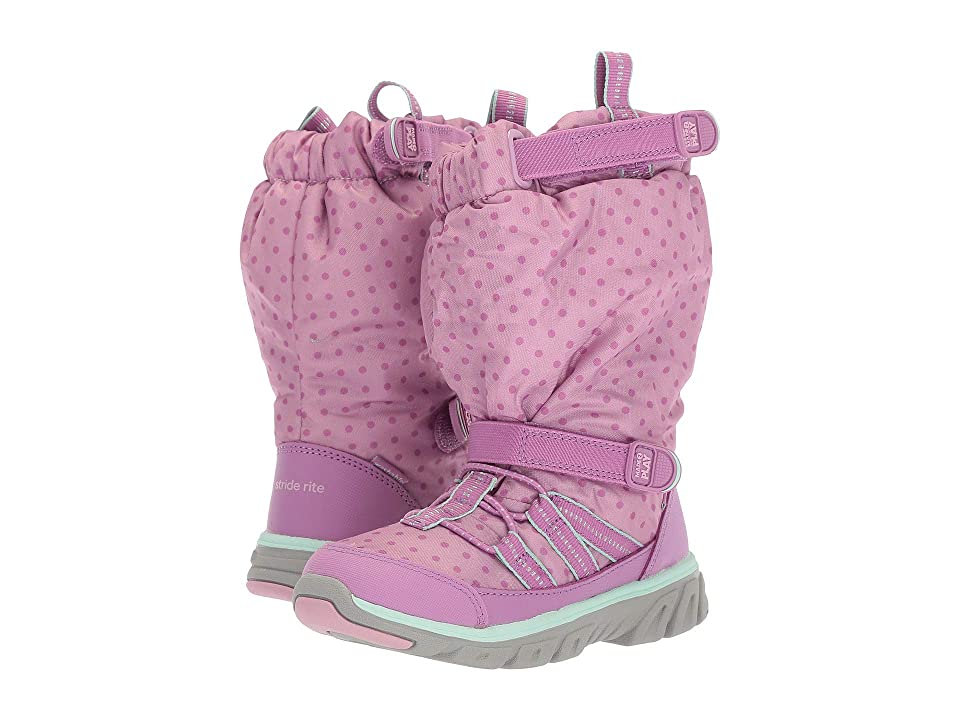 Stride Rite Made 2 Play Sneaker Boot (Toddler/Little Kid) (Purple 2) Girls Shoes