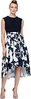 S.L. Fashions womens Sleeveless Printed Maxi Dress Special Occasion Dress
