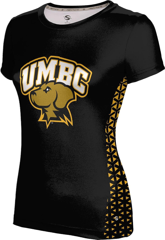 ProSphere University of Maryland Baltimore County Girls' Performance T-Shirt (Geometric)