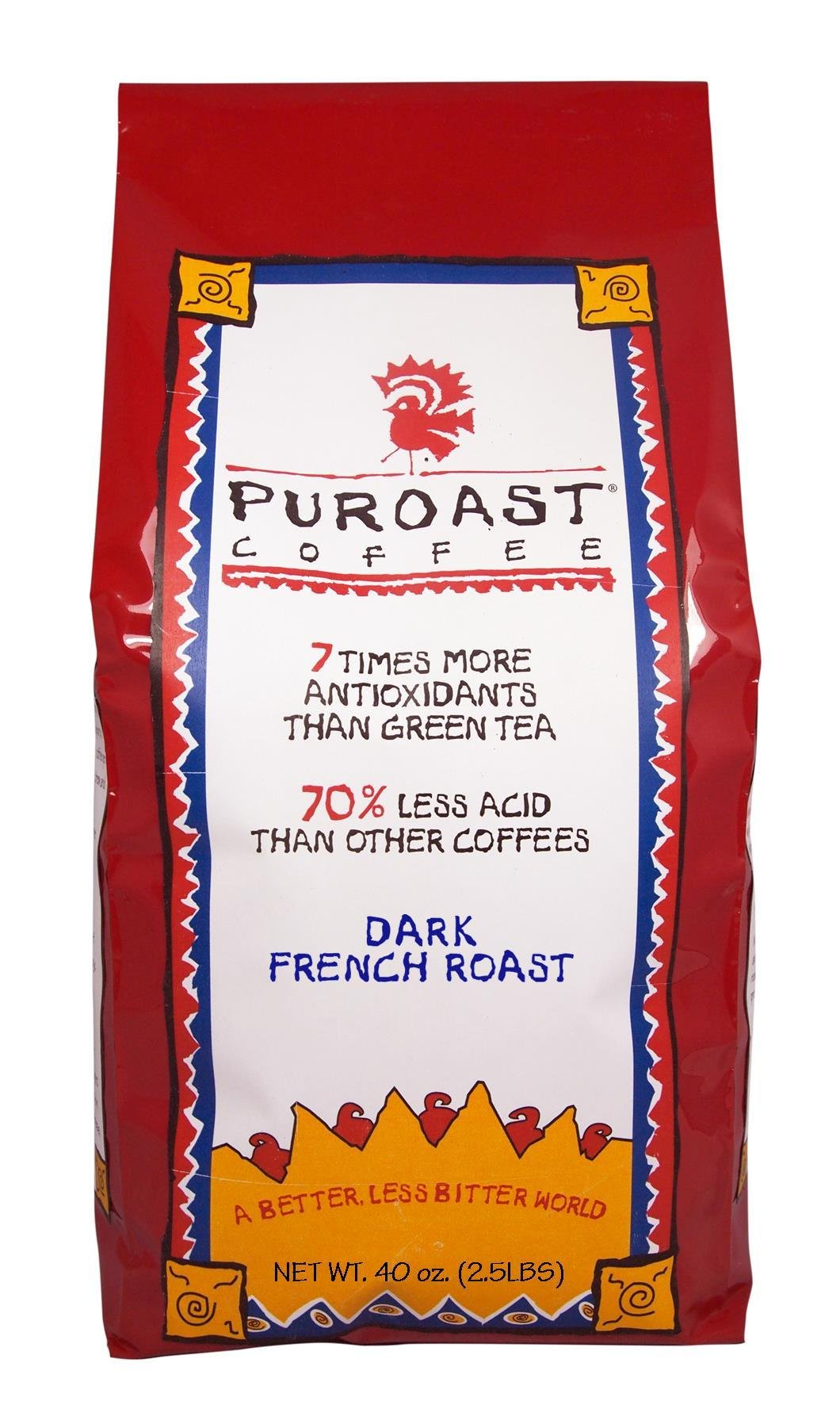 Puroast Low Acid Whole Bean Coffee