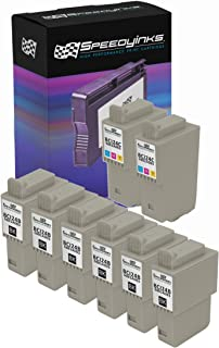 Speedy Inks Compatible Ink Cartridge Replacement for Canon BCI-24 and BCI-21 (6 Black, 2 Color, 8-Pack)
